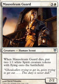 Mausoleum Guard - Sorin vs. Tibalt