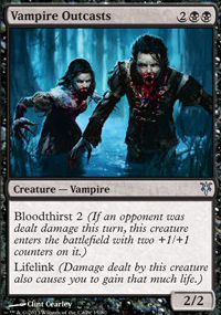 Vampire Outcasts - Sorin vs. Tibalt