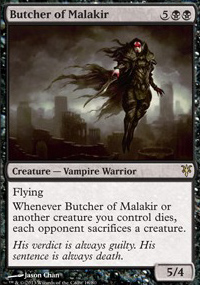Butcher of Malakir - Sorin vs. Tibalt