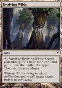 Evolving Wilds - Sorin vs. Tibalt