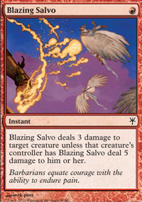 Blazing Salvo - Sorin vs. Tibalt
