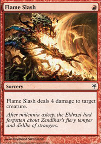 Flame Slash - Sorin vs. Tibalt