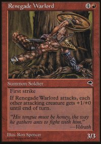 Renegade Warlord - Tempest