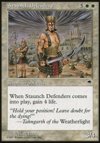 Staunch Defenders - Tempest
