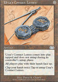 Urza's Contact Lenses - Unglued
