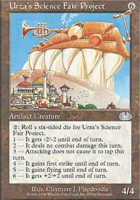 Urza's Science Fair Project - Unglued