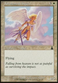 Tormented Angel - Urza's Destiny