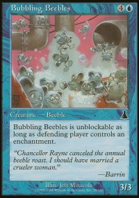 Bubbling Beebles - Urza's Destiny