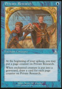 Private Research - Urza's Destiny