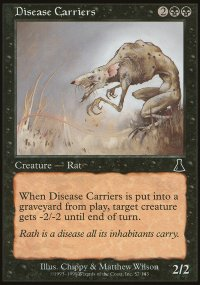Disease Carriers - Urza's Destiny