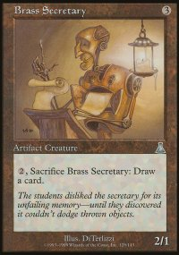 Brass Secretary - Urza's Destiny