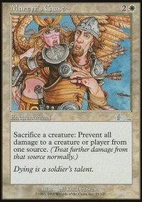 Martyr's Cause - Urza's Legacy