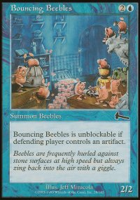 Bouncing Beebles - Urza's Legacy