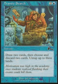Frantic Search - Urza's Legacy