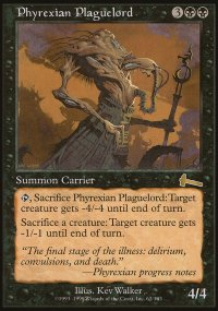 Phyrexian Plaguelord - Urza's Legacy