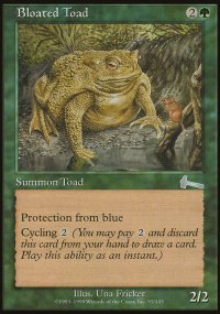Bloated Toad - Urza's Legacy