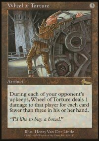 Wheel of Torture - Urza's Legacy