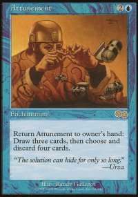 Attunement - Urza's Saga