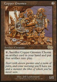 Copper Gnomes - Urza's Saga