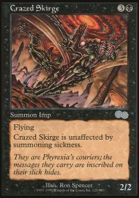 Crazed Skirge - Urza's Saga