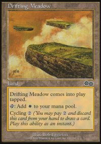 Drifting Meadow - Urza's Saga