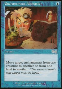 Enchantment Alteration - Urza's Saga