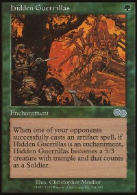 Hidden Guerrillas - Urza's Saga