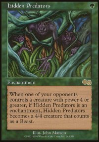 Hidden Predators - Urza's Saga
