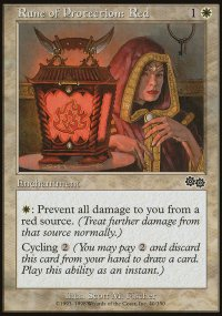 Rune of Protection: Red - Urza's Saga