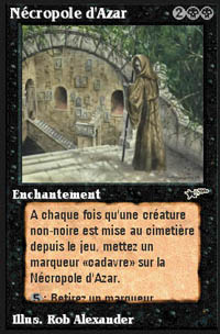 Necropolis of Azar - Virtual cards