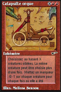 Orcish Catapult - Virtual cards