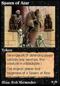 Spawn of Azar - Virtual cards