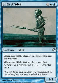 Slith Strider - Venser vs. Koth
