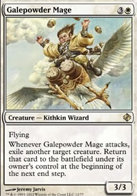 Galepowder Mage - Venser vs. Koth
