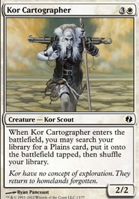 Kor Cartographer - Venser vs. Koth