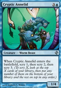 Cryptic Annelid - Venser vs. Koth