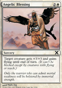 Angelic Blessing - 10th Edition