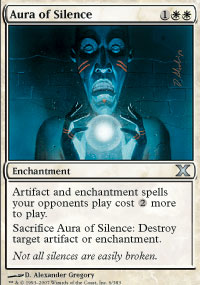 Aura of Silence - 10th Edition