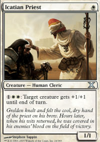 Icatian Priest - 10th Edition