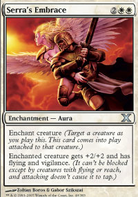 Serra's Embrace - 10th Edition