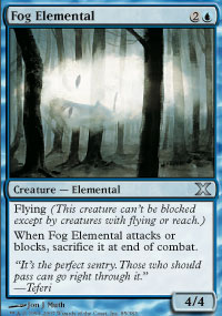 Fog Elemental - 10th Edition