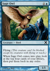 Sage Owl - 10th Edition