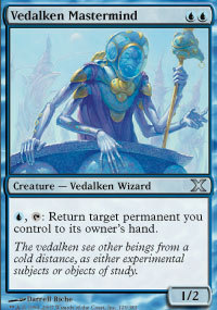 Vedalken Mastermind - 10th Edition