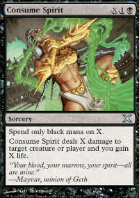 Consume Spirit - 10th Edition
