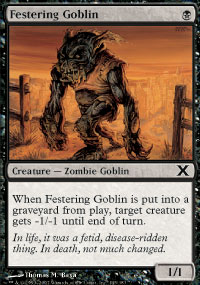 Festering Goblin - 10th Edition
