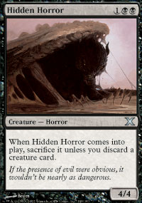 Hidden Horror - 10th Edition
