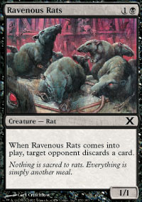 Ravenous Rats - 10th Edition