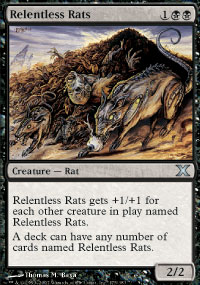 Relentless Rats - 10th Edition