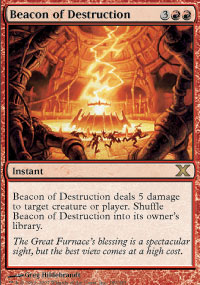 Beacon of Destruction - 10th Edition