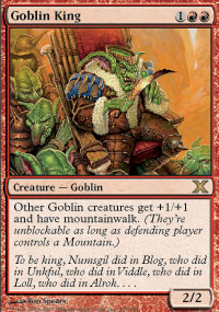 Goblin King - 10th Edition